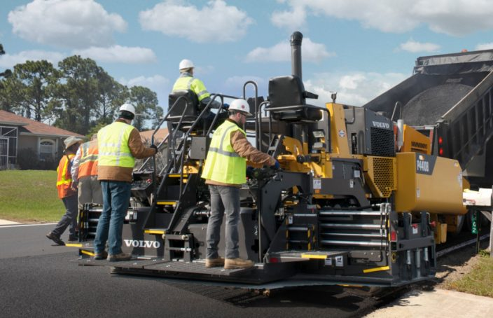 asphalt paver lexington sc