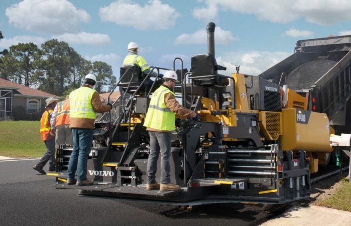 asphalt paver lexington sc