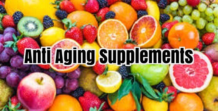 ANTI AGEING SUPPLEMENTS